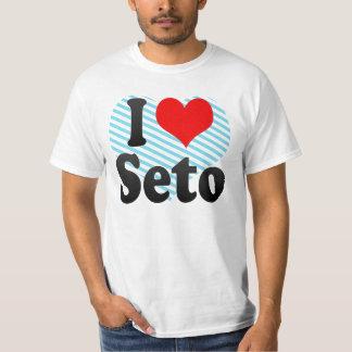 I Love Seto, Japan. Aisuru Seto, Japan T-Shirt