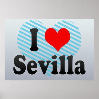 I Love Sevilla, Spain. Me Encanta Sevilla, Spain Posters