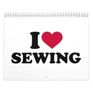 I love sewing calendar