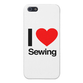 i love sewing cover for iPhone SE/5/5s