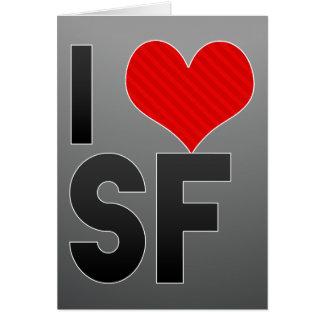 I Love SF Cards