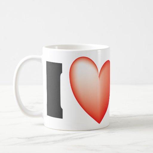I Love SF Coffee Mugs