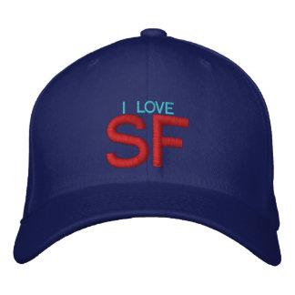 I LOVE SF - Customizable Cap by eZaZZleMan