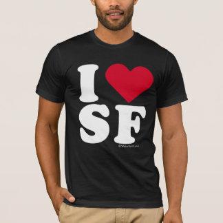 """I LOVE SF"" ""I LOVE SAN FRANCISCO"" T-Shirt"