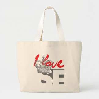 I LOVE SF LARGE TOTE BAG