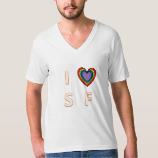 I love SF (proudly!) T-Shirt