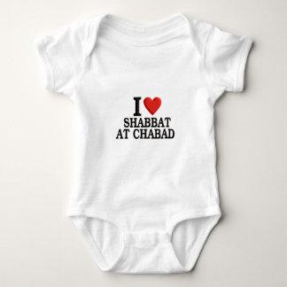 I love Shabbat at Chabad Baby Bodysuit
