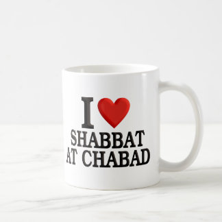 I love Shabbat at Chabad Coffee Mug