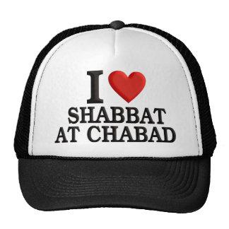 I love Shabbat at Chabad Trucker Hat