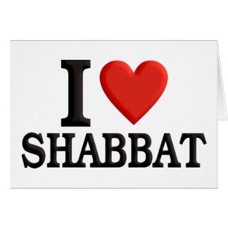 I love Shabbat Card
