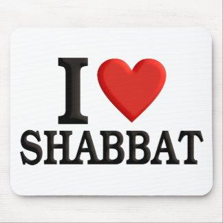 I love Shabbat Mouse Pad