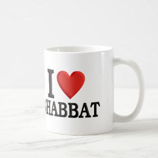 I love Shabbat Classic White Coffee Mug