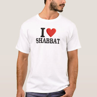 I love Shabbat T-Shirt
