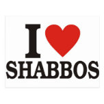I love Shabbos Post Card
