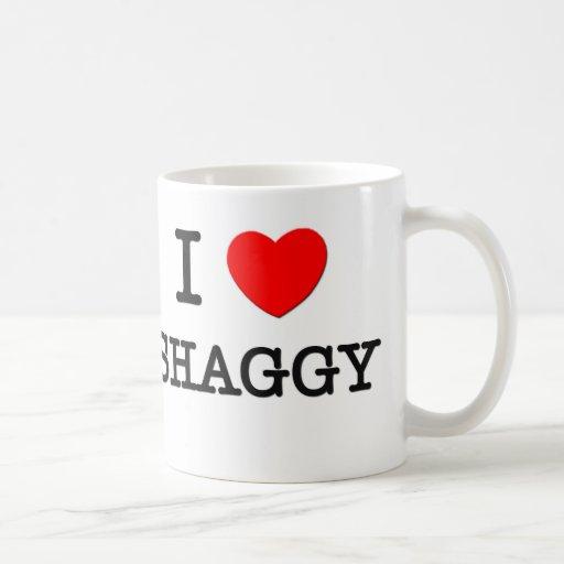 I Love Shaggy Classic White Coffee Mug