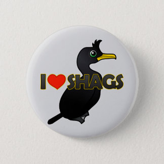 I Love Shags Button