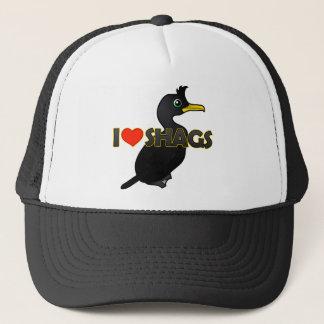 I Love Shags Trucker Hat