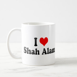 I Love Shah Alam, Malaysia Mugs