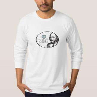 I Love Shakespeare Men's Tshirt