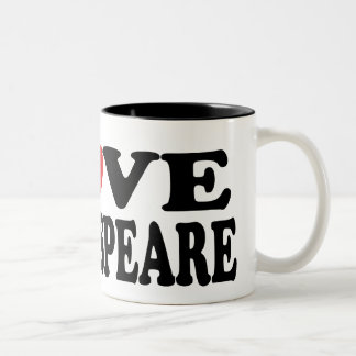 I Love Shakespeare Reading Mug
