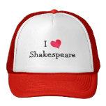 I Love Shakespeare Trucker Hat