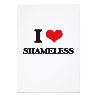 I Love Shameless 5x7 Paper Invitation Card