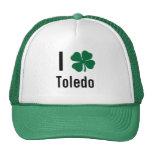 I love (shamrock) Toledo St Patricks Day Hats