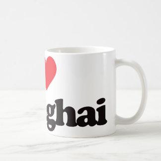 I Love Shanghai Classic White Coffee Mug
