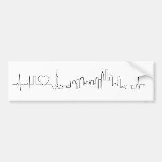 I love Shanghai (ecg style) souvenir Bumper Sticker