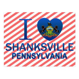 I Love Shanksville, PA Post Cards