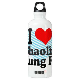 I love Shaolin Kung Fu Water Bottle