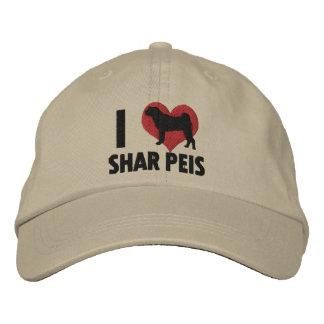 I Love Shar Peis Baseball Cap