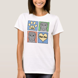 I Love Shar-Peis T-Shirt