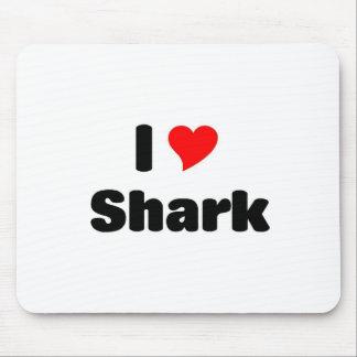 I love shark mouse pad