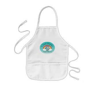 I love sharks deal with it! kids' apron