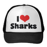 I Love Sharks Hat