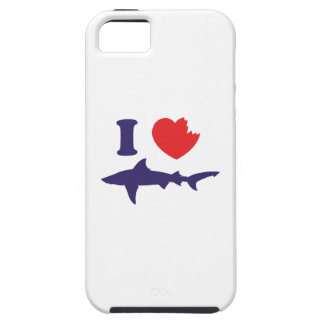 I Love Sharks iPhone SE/5/5s Case