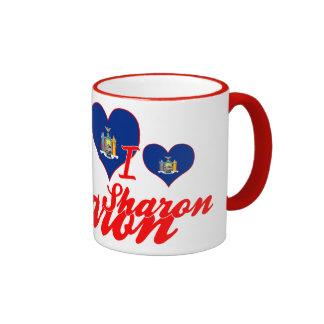 I Love Sharon, New York Mugs