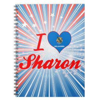I Love Sharon, Oklahoma Note Book