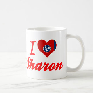 I Love Sharon, Tennessee Coffee Mug