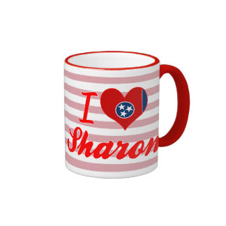 I Love Sharon, Tennessee Coffee Mugs