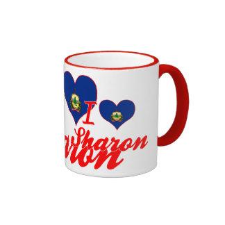I Love Sharon, Vermont Mug