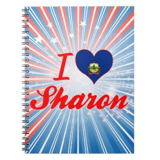 I Love Sharon, Vermont Note Books