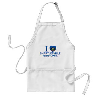 I Love Shartlesville, PA Adult Apron