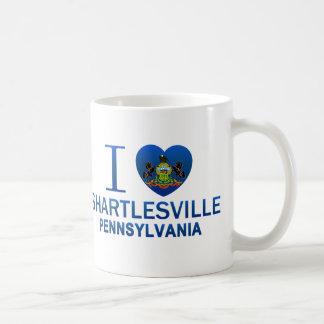 I Love Shartlesville, PA Classic White Coffee Mug