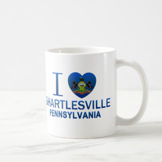 I Love Shartlesville, PA Coffee Mug
