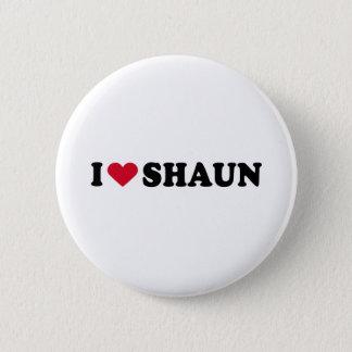 I LOVE SHAUN BUTTON