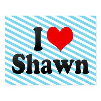 I love Shawn Postcard