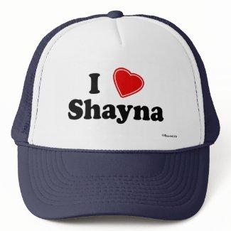 I Love Shayna Mesh Hats