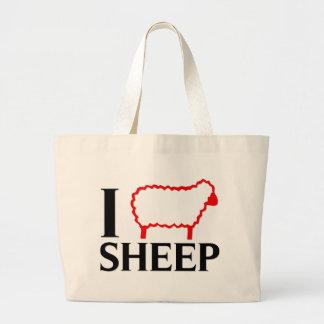 I Love Sheep Bags